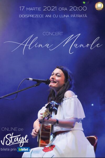 Poster eveniment Alina Manole - Luna Pătrată