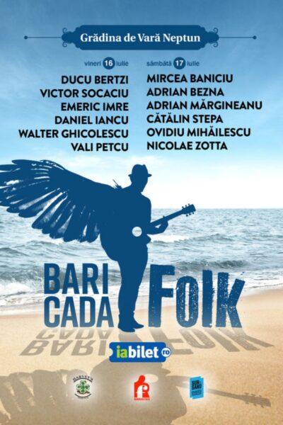 Poster eveniment Baricada FOLK