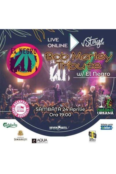 Poster eveniment El Negro - Bob Marley Tribute
