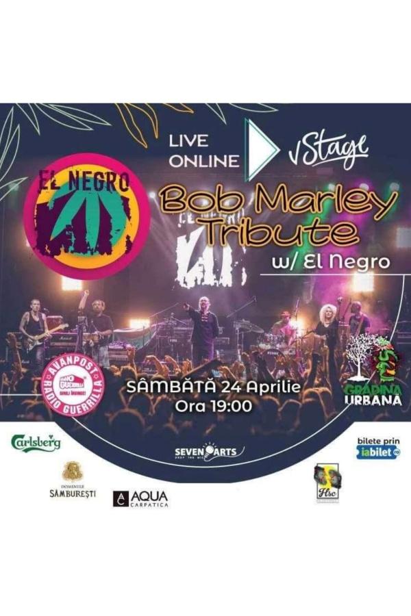 El Negro - Bob Marley Tribute la vStage.ro