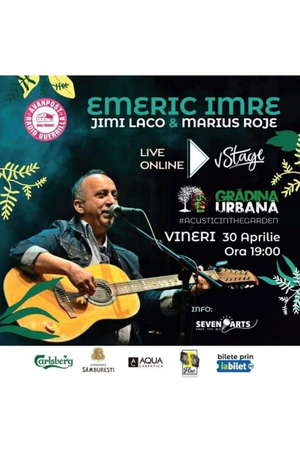 Emeric Imre & Jimi Laco & Marius Roje la vStage.ro