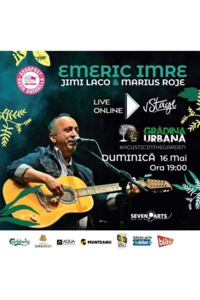 Poster eveniment Emeric Imre & Jimi Laco & Marius Roje