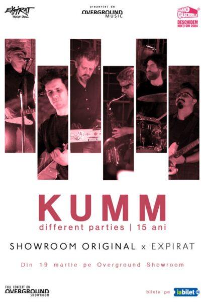 Poster eveniment KUMM - concert aniversar