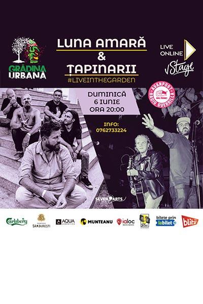 Poster eveniment Luna Amară & Țapinarii