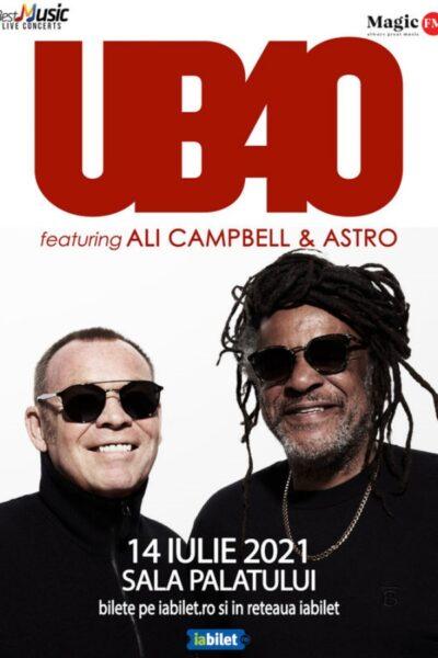 Poster eveniment UB40 feat. Ali Campbell și Astro
