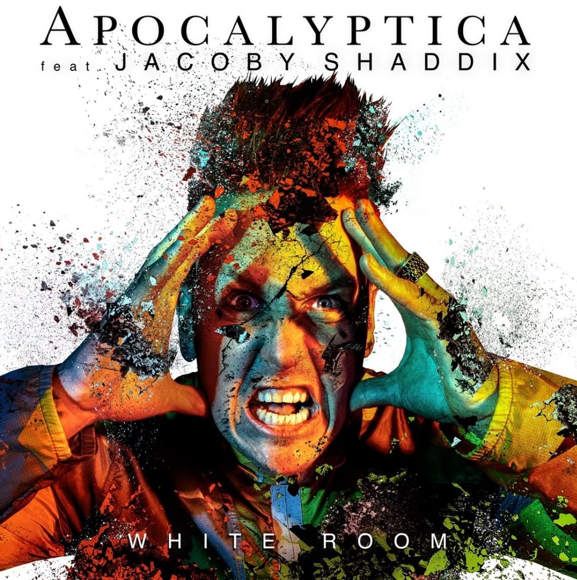 Coperta single Apocalyptica Jacoby Shaddix White Room