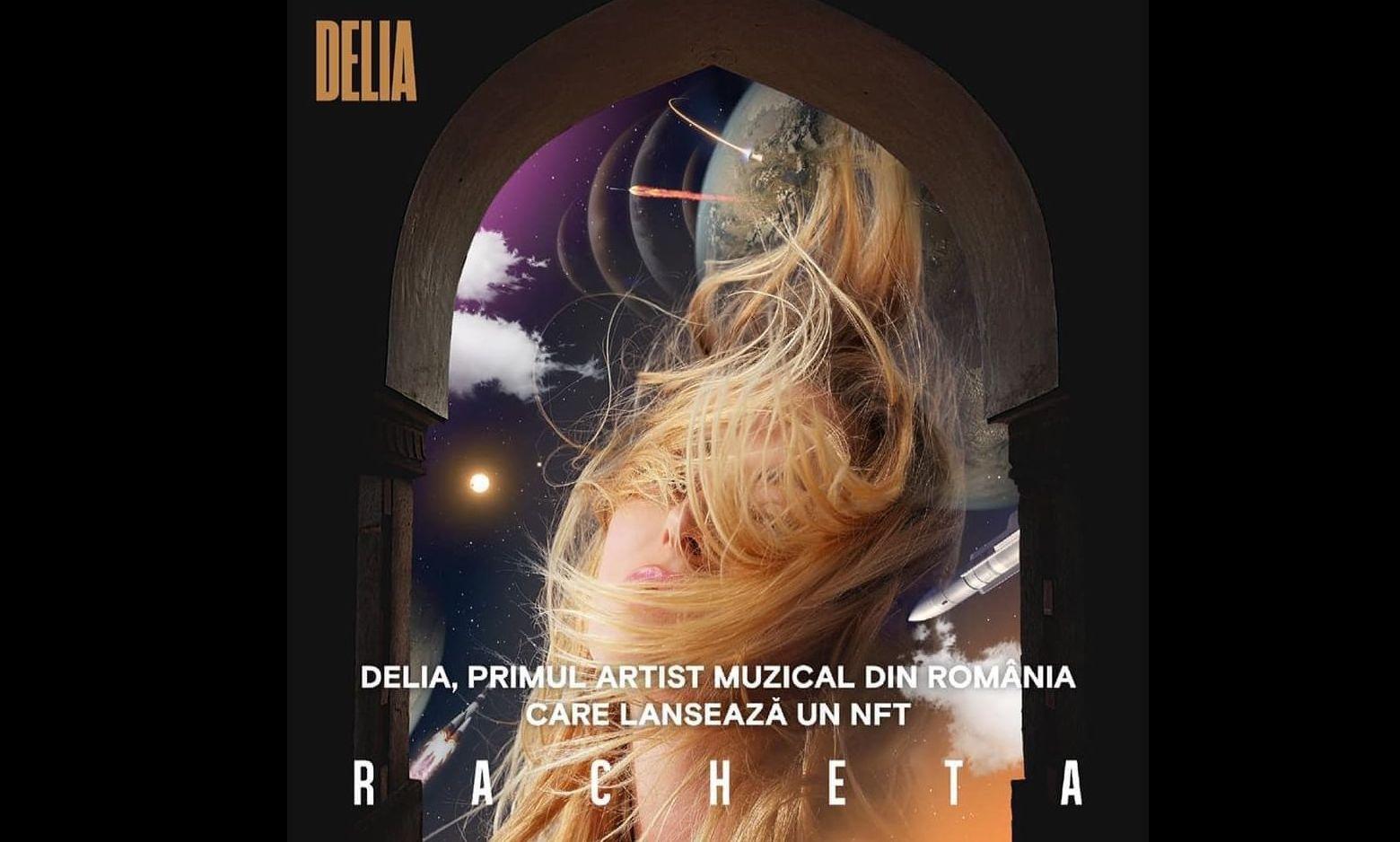 Delia NFT single Racheta