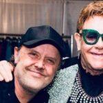 Elton John si Lars Ulrich fotografie Instagram 2019
