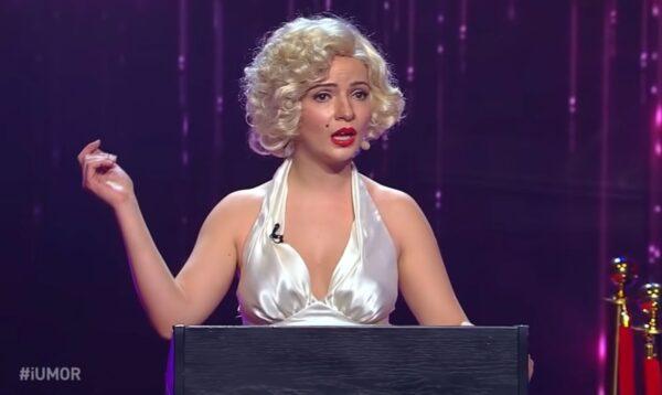 iUmor roast Marilyn Monroe Anca Dinicu