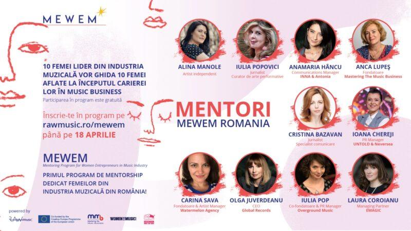 Mentorii programului MEWEM România