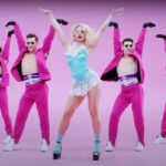 "Natalia Gordienko în videoclipul piesei ""Sugar"""