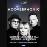 Poster concert Hooverphonic Romania 2021