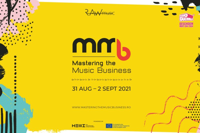 Poster Mastering The Music Business