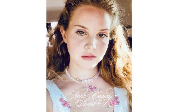 Teaser album Lana Del Rey Rock Candy Sweet