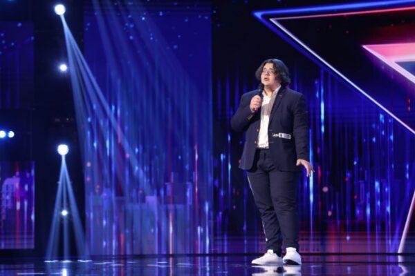 "Adrian Galbinu la ""Românii au talent"""