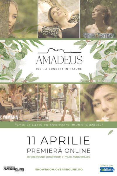 Poster eveniment Overground Showroom: Amadeus