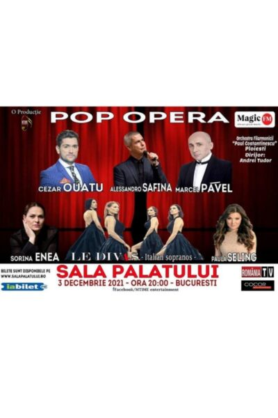 Poster eveniment Concert Pop Opera