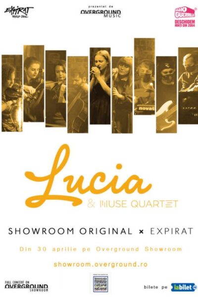 Poster eveniment Overground Showroom: Lucia & Muse Quartet