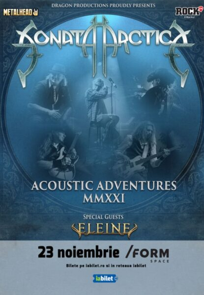 Poster eveniment Sonata Arctica