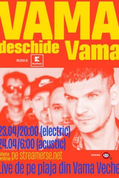 Poster eveniment Vama deschide Vama