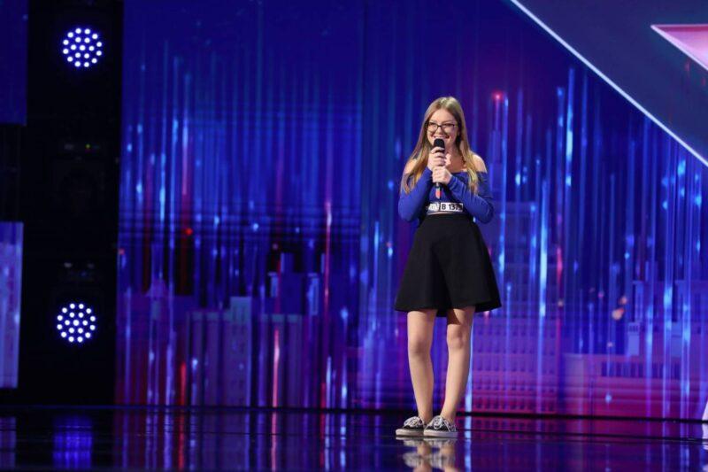 """Andreea Bucur la """"Românii au talent"""" 2021"""
