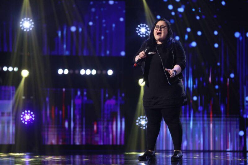 """Aura Bolozan la """"Românii au talent"""" 2021"""