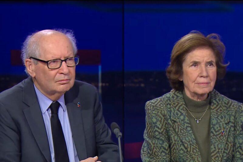 Beate și Serge Klarsfeld într-un interviu pentru France 24