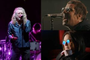 Robert Plant / Liam Gallagher / Ozzy Osbourne
