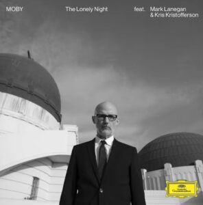 Coperta single Moby The Lonely Night Reprise