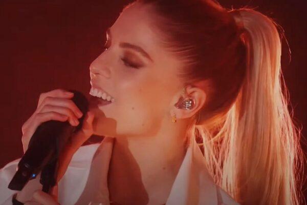 """Hannah, vocalista London Grammar, în cadrul concertului de lansare a albumului """"Californian Soil"""""""