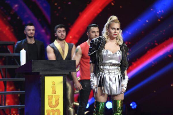 Paula Chirilă - Madonna la iUmor