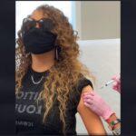 Mariah Carey primind prima doză de vaccin anti-COVID-19
