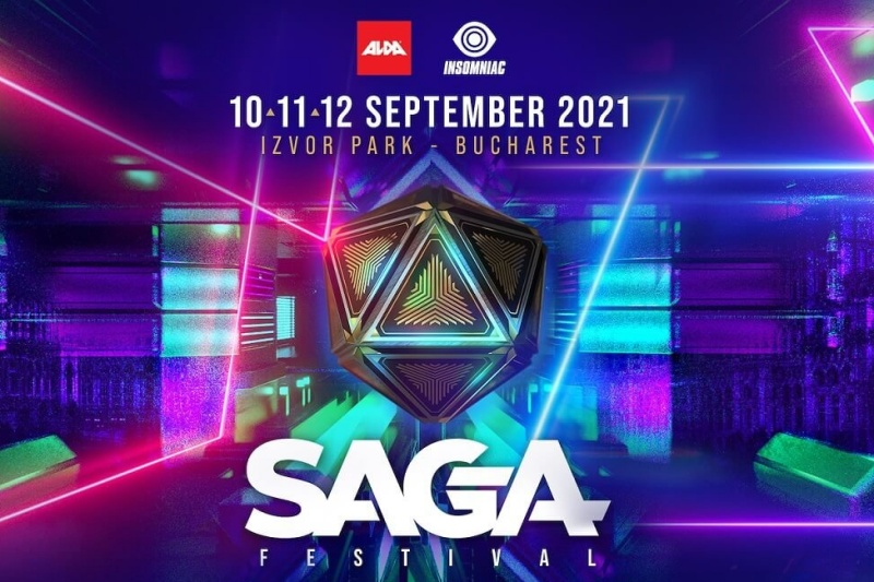 Poster SAGA Festival 2021