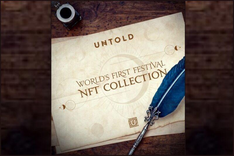 UNTOLD lansează prima colecție de NFT-uri