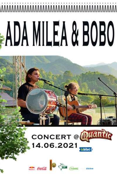 Poster eveniment Ada Milea și Bobo Burlăcianu