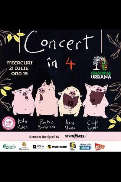 Poster eveniment Ada Milea   Concert în 4