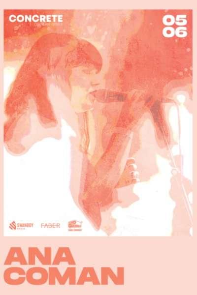 Poster eveniment Ana Coman