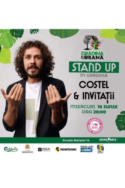 Poster eveniment Costel & invitații