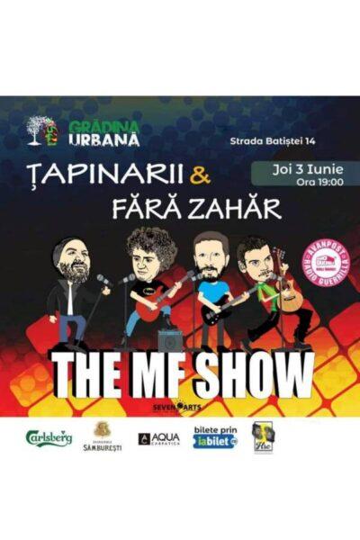 Poster eveniment Fără Zahăr & Țapinarii