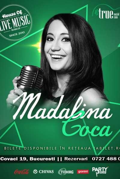 Poster eveniment Mădălina Coca