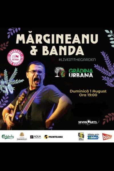 Poster eveniment Mărgineanu & Banda