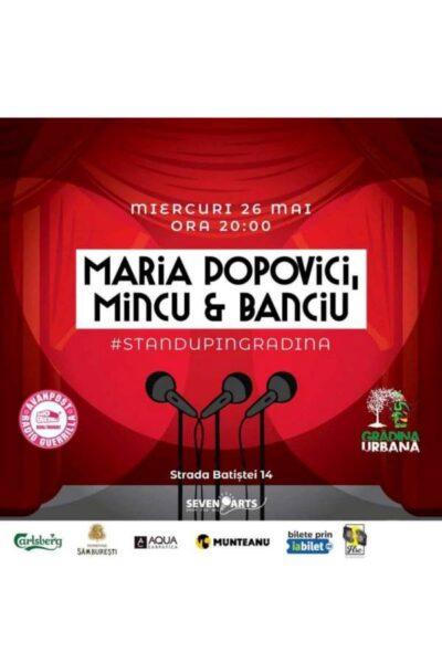Poster eveniment Maria Popovici   Mincu   Banciu