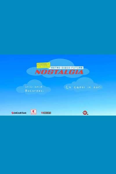 Poster eveniment NOSTALGIA - Cu capul în nori