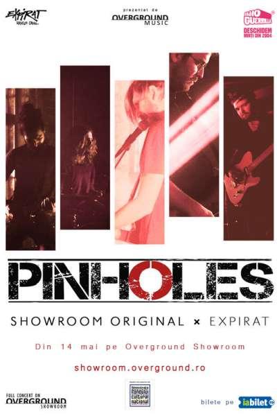 Poster eveniment Overground Showroom: Pinholes