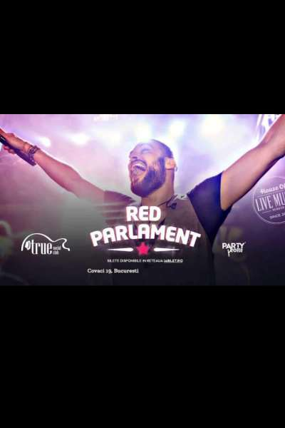 Poster eveniment Red Parlament
