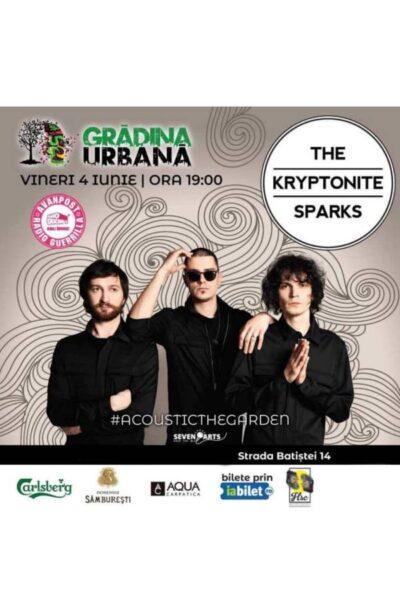Poster eveniment The Kryptonite Sparks