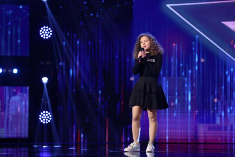 """Andrada Olteanu la """"Românii au talent"""" 2021"""
