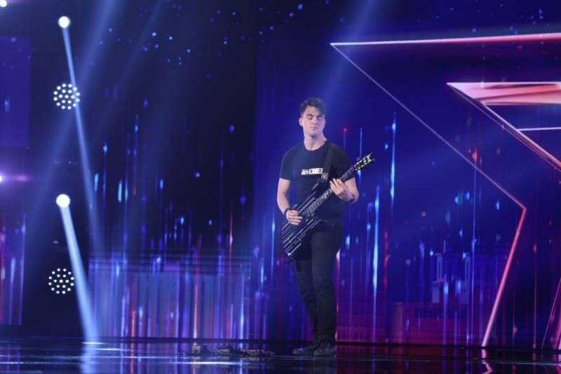 """Andrei Trandafir la """"Românii au talent"""" 2021"""
