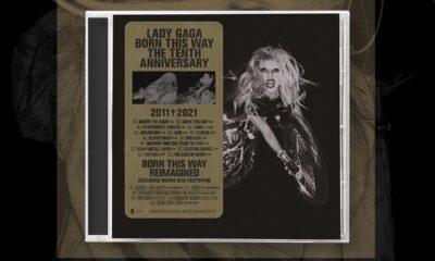 Coperta album Lady Gaga Born This Way Anniversary Edition 2021