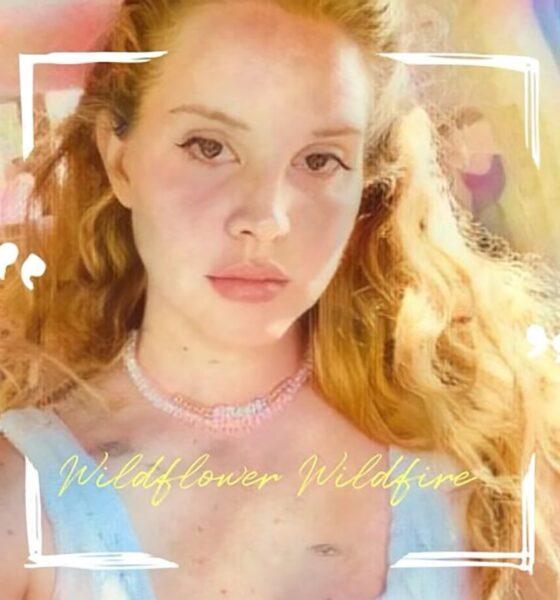Coperta Single Lana Del Rey Wildflower Wildfire